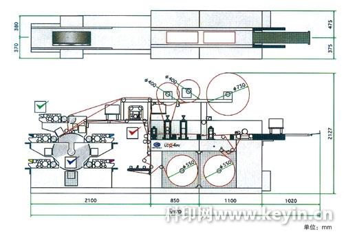 琳得科lcr-4pv全轮转不干胶标签印刷机结构图