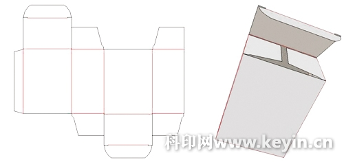 纸盒结构设计方法