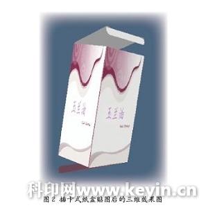 创意多边形天地盖盘式纸盒结构展开图