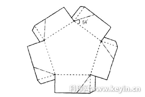 纸盒包装设计展开图 - 黑马素材网