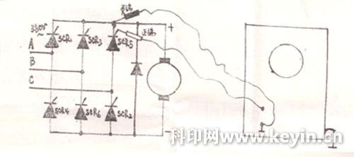 半波整流电路示波器波形图